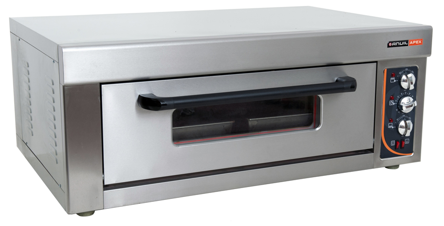 doa3001--deck-oven-anvil--2-tray--single-deck