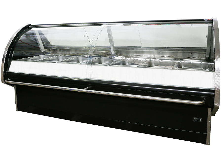 cgm1220sc--1305mm-&quotjust&quot-curved-glass-meat-display-fridge
