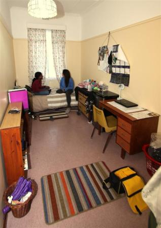 Students are encouraged to made their bedrooms their own