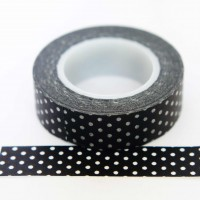black-&amp-white-polka-dot-washi-tape