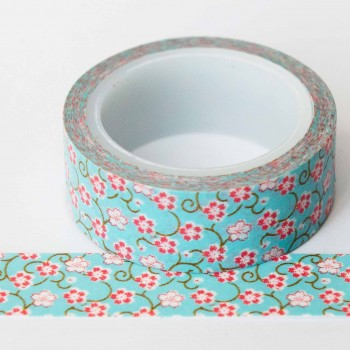 blue-with-pink-floral-washi-tape