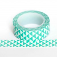 light-blue-triangles-washi-tape