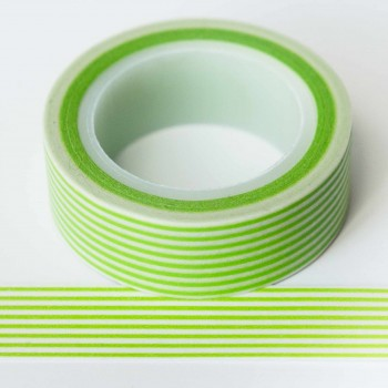 lime-green-stripe-washi-tape