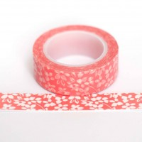 orange-floral-washi-tape