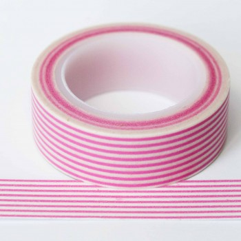 pink-stripe-washi-tape