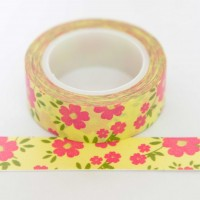 pink-and-yellow-floral-washi-tape