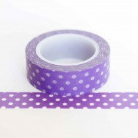 purple-with-white-polkadots-washi-tape