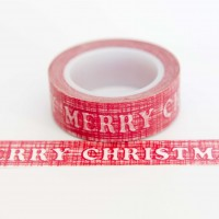 red-merry-christmas-washi-tape