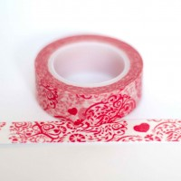 red-swirls-washi-tape