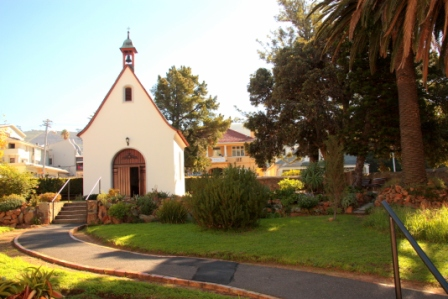 This beautiful peaceful Chapel is situated in the Villa Maria gardens