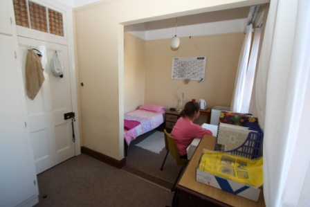 Villa Marias student accommodation varies in size