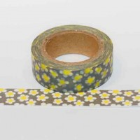 grey-and-yellow-floral-washi-tape