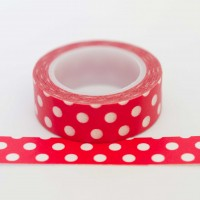 red-with-big-polkadots-washi-tape